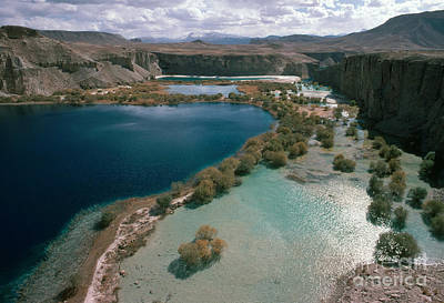 Band-i-amir Lakes, Afghanistan Poster