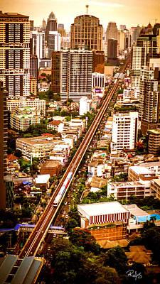 Bangkok City Of Angels Poster by Allan Rufus