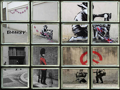 Banksy Street Art Poster by David French