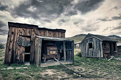 Bannack Carriage House Poster by Renee Sullivan