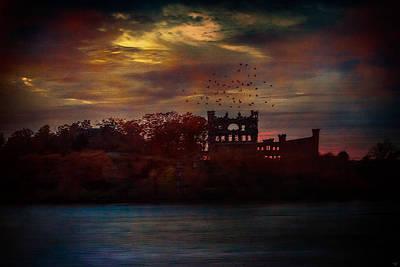 Bannerman Castle Ruins Poster