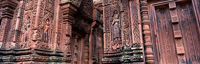 Bantreay Srei Nr Siem Reap Cambodia Poster by Panoramic Images