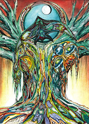 Banyan Tree Poster by Andrea Carroll