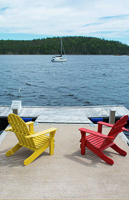 Bar Harbor, Maine, Peaceful Scene Poster
