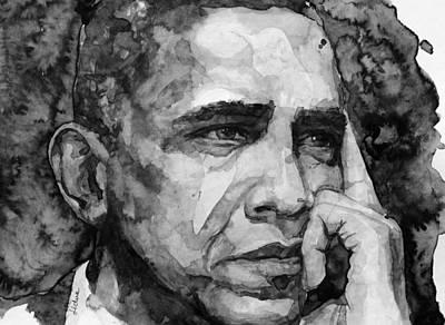 Barack Obama Poster by Laur Iduc