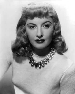 Barbara Stanwyck In Double Indemnity  Poster by Silver Screen