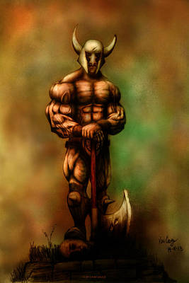 Barbarian King Poster