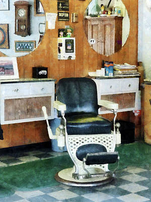 Barber - Barber Shop One Chair Poster