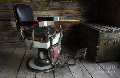 Barber Chair Bannack Montana Poster by Bob Christopher