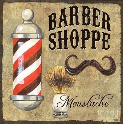 Barber Shoppe 1 Poster by Debbie DeWitt