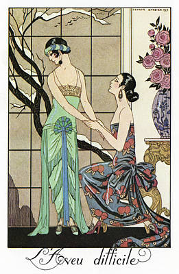 Barbier Confession, 1923 Poster by Granger