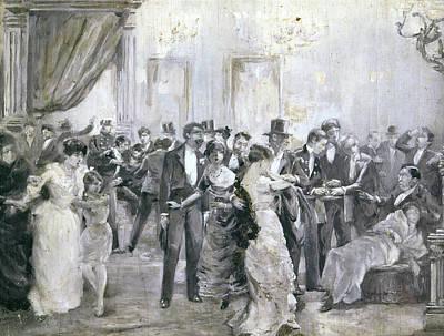 Barcelona Bombing, 1893 Poster
