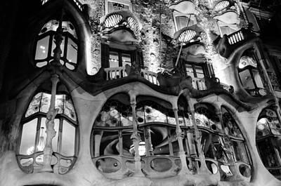Barcelona - Casa Batllo Poster