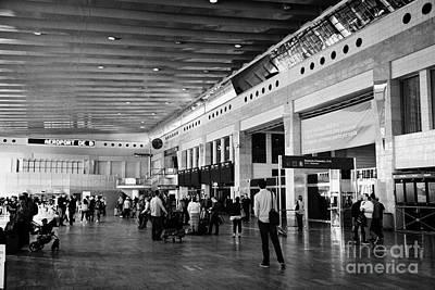 Barcelona El Prat Airport Terminal 2 Catalonia Spain Poster by Joe Fox