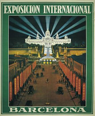 Barcelona International Exhibition Poster