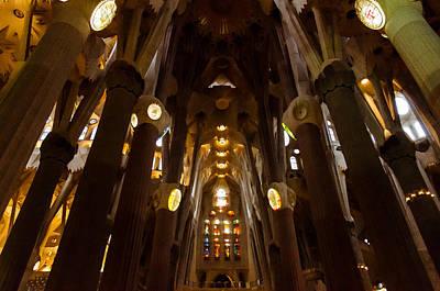 Barcelona - Sagrada Familia Poster by Andrea Mazzocchetti