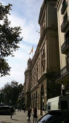 Barcelona Street Poster