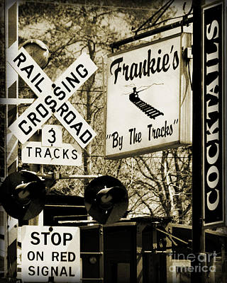 Poster featuring the photograph Barhopping At Frankies 2 by Lee Craig