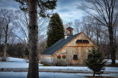 Barn 7078 Poster by Tricia Marchlik