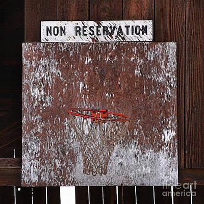 Barn Basketball Poster