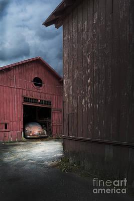 Barn Find Poster by Edward Fielding
