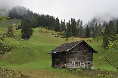 Barn In Austria Poster