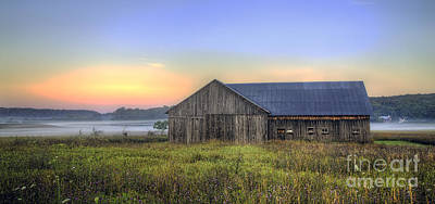 Barn In Northern Michigan Poster by Twenty Two North Photography