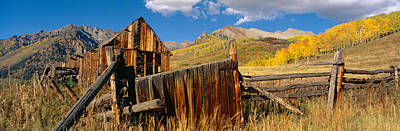Barn, Last Dollar Road, Telluride Poster by Panoramic Images