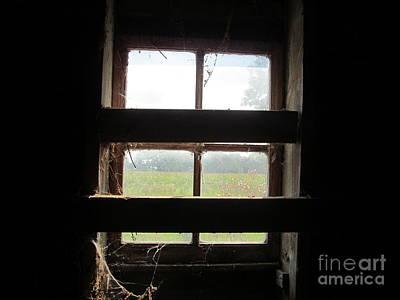 Barn South Lower Window Poster