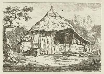 Barn With Open Upper Door, Carel Lodewijk Hansen Poster by Artokoloro