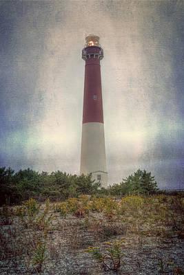 Barnegat Lighthouse Dawn Poster by Joan Carroll