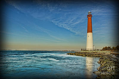 Poster featuring the photograph Barnegat Lighthouse II - Lbi by Lee Dos Santos