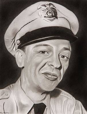Barney Fife Poster by Brian Broadway