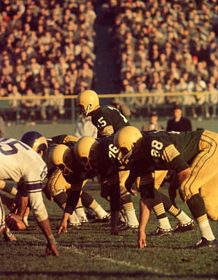 Bart Starr In Action Poster