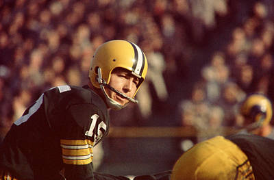 Bart Starr Under Center Poster by Retro Images Archive