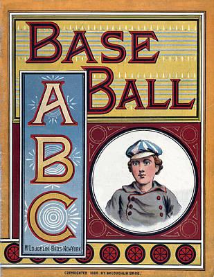 Baseball Abc Poster
