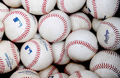 Baseball Color Poster by Joe Hamilton