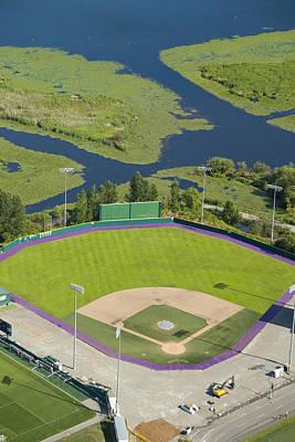 Baseball Field, University Poster by Andrew Buchanan/SLP