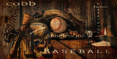Baseball Greats Poster