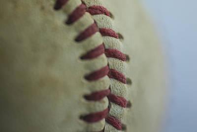 Baseball Macro 2 Poster