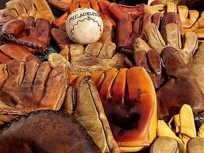 Baseball Of Old Poster