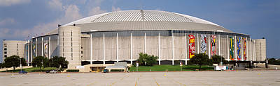 Baseball Stadium, Houston Astrodome Poster by Panoramic Images