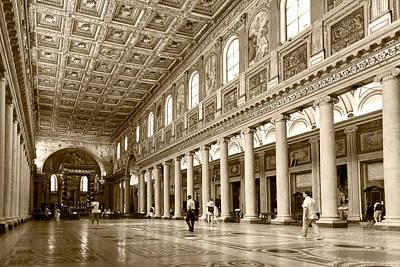 Basilica Di Santa Maria Maggiore Poster