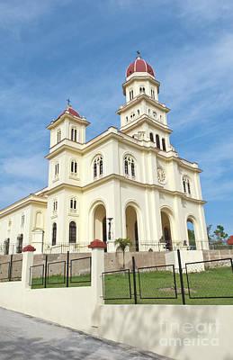 Basilica El Cabre Church, Santiago, Cuba Poster by Bill Bachmann