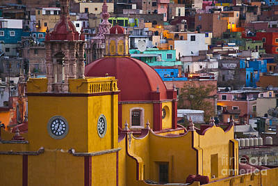 Basilica Of Our Lady Of Guanajuato Mexico Poster