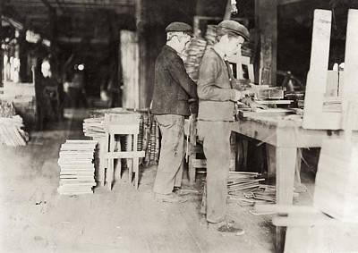 Basket Factory, 1908 Poster