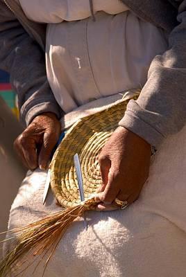 Basket Weaver Poster