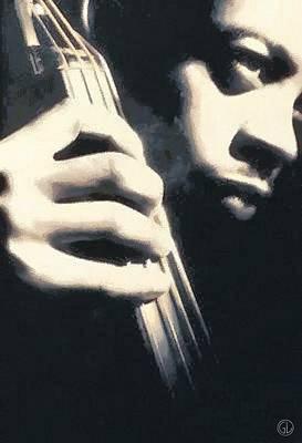 Bass Poster by Gun Legler