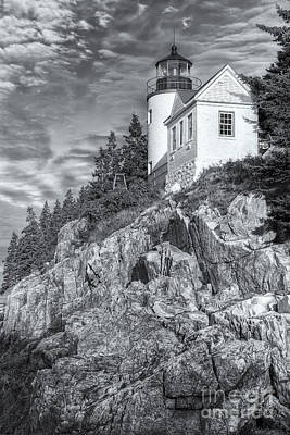 Bass Harbor Head Light II Poster by Clarence Holmes