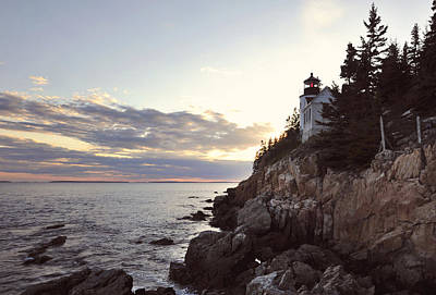 Bass Harbor Head Lighthouse Maine Poster